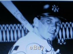VINTAGE NEW YORK YANKEES GAME WORN BASEBALL BATTING HELMET ABC 1960s