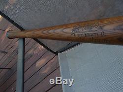VINTAGE/OLD. EARLY 1900's. PETERS BASEBALL BAT. ANTIQUE/RARE/GAME BAT/HILLERICH BAT