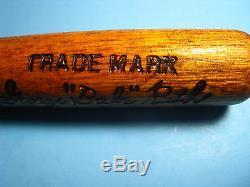 Vintage Rare 1927 Babe Ruth World Series 16 Louisville Slugger Baseball Bat