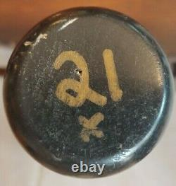 VINTAGE Sean Casey light game used X bat Hard to Find Casey game bat