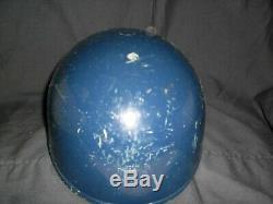 VINTAGE WASHINGTON SENATORS GAME WORN BASEBALL BATTING HELMET ABC 1960s