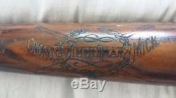 Vintage Zimmerman Bat Co 1910's-20's 33+ Inch 39.5 Oz Vintage Baseball Bat