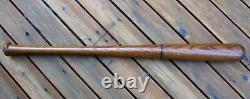 VTG 1930's Jimmie Foxx STALL & DEAN Ringer Line Wood Baseball Bat Rare