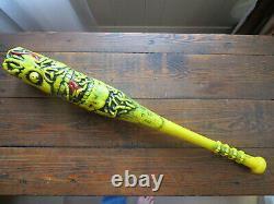 Very Nice Ghouliville Bat Marchon 1986 Madballs Baseball Weird Balls Vintage