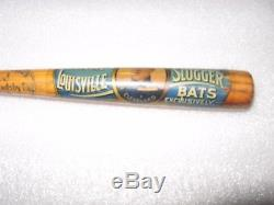 Vintage 12 Mini Baseball Bat Hillerich & Bradsby Louisville Slugger 40lj 1915