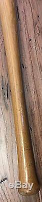 Vintage 1900s Georgia Peach Ty Cobb Decal 35 Louisville Slugger Baseball Bat