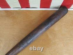 Vintage 1900s Houcks Wood Baseball Bat Softball 34 Antique City of Reading, PA