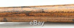 Vintage 1905-1910 J. F. Hillerich and Son Baseball bat Nice Condition