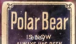 Vintage 1909-11 T206 Ty Cobb Bat Off Shoulder Rare Polar Bear Back Sgc 20 Clean