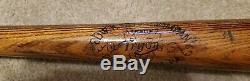 Vintage 1910's era Edw. K. Tryon Professional Model 35 Baseball Bat