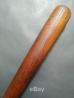 Vintage 1910s Hillerich & Bradsby Champion Wood Baseball Bat No. 8 Antique 32.75