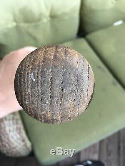 Vintage 1910s Hillerich & Bradsby Champion Wood Baseball Bat No 8 Antique Bat