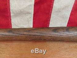 Vintage 1910s Hillerich & Bradsby Semi Pro Wood Baseball Bat 35 Antique No. 11B
