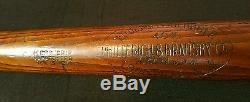 Vintage 1920's Babe Ruth 40K Louisville Slugger 36in 44oz bat
