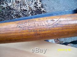 Vintage 1920's Goose Goslin Baseball Bat 40 L. G. G. Louisville SLUGGER