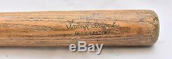 Vintage 1920s Frankie Frisch 40 F. F. Hillerich & Bradsby Store Baseball Bat