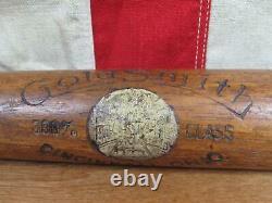 Vintage 1920s Goldsmith Wood Baseball Bat No. 88 Diamond Ball Hickory 33 Antique