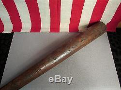 Vintage 1920s Hilton Collins Wood Fungo Baseball Bat 36 Victorian Antique Rare
