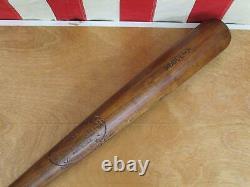 Vintage 1920s Louisville Slugger H&B Wood 125 Baseball Bat Rodgers 34 Antique