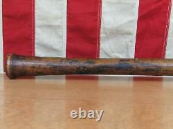 Vintage 1920s Louisville Slugger H&B Wood 125 Baseball Bat Thompson 35 Antique