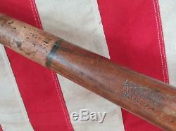 Vintage 1920s Louisville Slugger Wood Baseball Bat Cork Grip L. Goose Goslin HOF