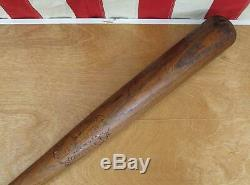 Vintage 1920s Louisville Slugger Wood Baseball Bat L. Goose Goslin HOF 34 Rare