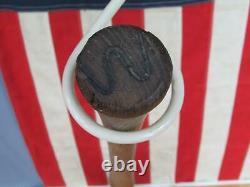 Vintage 1920s Spalding Jr. Autograph Baseball Bat Diamond Ball Ken Williams 32
