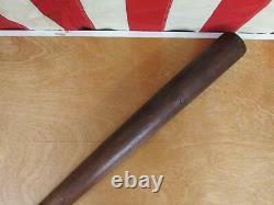Vintage 1920s Trojan Sporting Goods Wood Baseball Bat No. 45 NYC Antique 32 Rare