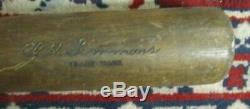 Vintage 1930's Al Simmons Hillerich & Bradsby Model 40-AS 33 Baseball Bat Rare
