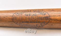 Vintage 1930s 1940s Joe Cronin 125 JC Hillerich & Bradsby Store Baseball Bat