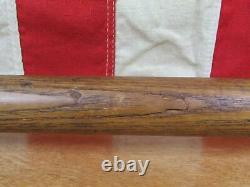 Vintage 1930s Claud A. Light Wood Baseball Bat Harpursville, NY 34 Antique Rare