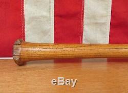 Vintage 1930s Cox Wood Professional Baseball Bat Memphis, Tennessee 33 Antique