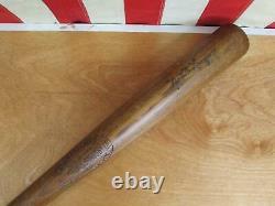Vintage 1930s Hillerich & Bradsby Co. Wood No. 20 Baseball Bat National League 35