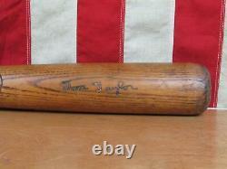 Vintage 1930s Tom Taylor Wood Baseball Bat Professional Model 35 Scranton, PA
