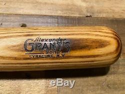 Vintage 1940's Kren Professional Model 140 Baseball Bat -Alexander Grant's 33