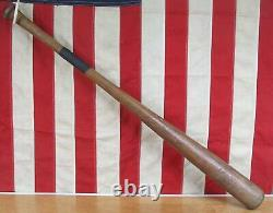 Vintage 1940s Hillerich & Bradsby Wood Leader Baseball Bat HOF Mel Ott Model 34