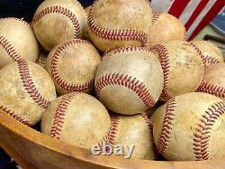 Vintage 1940s JC Higgins Wood Baseball Bats Crafted Table Furniture withBaseballs