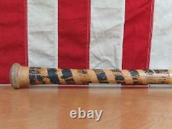 Vintage 1940s Louisville Slugger 102 Baseball Bat USN Softball 34 Military WWII