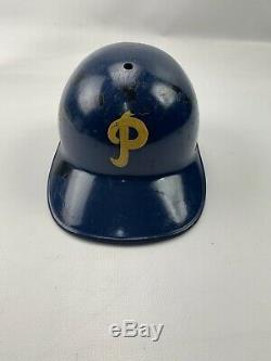 Vintage 1950's American Baseball Cap Batting Helmet Pitt Panthers