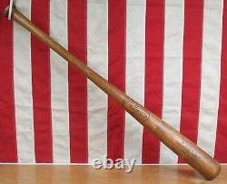 Vintage 1950s JC Higgins Wood Leaguer Baseball Bat Yogi Berra HOF 33 NY Yankees