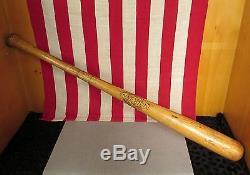 Vintage 1950s Krens Special Wood Baseball Bat Walker Cooper Autograph Model 34
