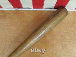 Vintage 1950s Louisville Slugger H&B Wood Baseball Bat HOF Babe Ruth Model 33
