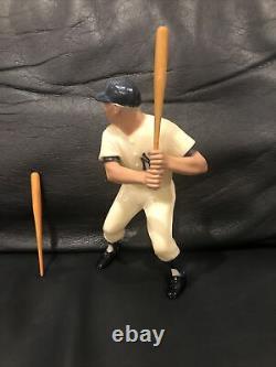 Vintage 1950s Mickey Mantle Heartland Baseball statue with bats no box