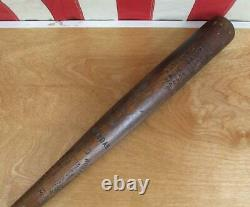 Vintage 1950s Oregon Slammer Wood Baseball Bat Tanoak HOF Ernie Banks Model 31
