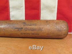 Vintage 1950s Spalding Wood Baseball Bat Ted Kluszewski Special Model 33 48-165