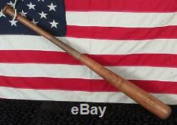 Vintage 1960s Louisville Slugger H&B Wood 125 Baseball Bat Bill Kunkle Model 35