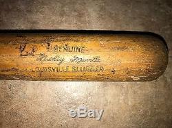 Vintage 1961-64 Mickey Mantle New York Yankees Professional Model Game Used Bat