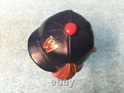 Vintage 1962 Washington Senators Bobble Head Nodder with Tilted Cap and Bat