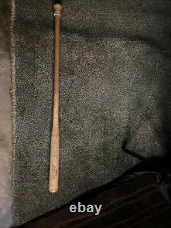 Vintage 1965 1972 Chicago White Sox Game Used Fungo Baseball Bat Old Early