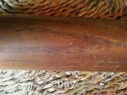 Vintage 1968 Adirondack Wood Baseball Bat Yankees Tony Kubek 212s RARE logo
